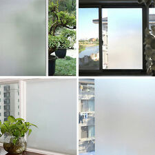 Waterproof PVC Privacy Frosted Home Bedroom Bathroom Window Glass Film
