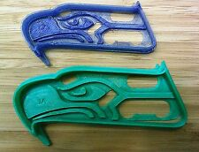 Seattle Seahawks Cookie Cutter - Choice of Sizes (Sports Football) 3D Printed
