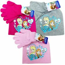 Girls Disney Frozen Hat & Gloves Set 2-10 Years