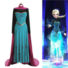 Coronation Costume Evening Party Fancy Gown Formal Dress+Cloak For Adult Women