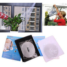 Black/White Insect FlyBug Mosquito Door Window Net Mesh Screen Curtain Protector