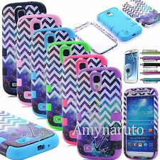 Shockproof Heavy Duty Hybrid Matte Case Cover  for Samsung Galaxy S4 S IV i9500