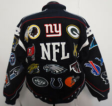 NFL AFC NFC TEAM COLLAGE NATIONAL FOOTBALL LEAGUE ADULT JACKET NWT NFL PLAYOFFS