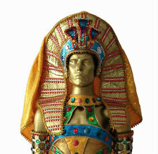 King Pharoah Egyptian Gold Elegant Headdress Costume Showgirl Cabaret Men's