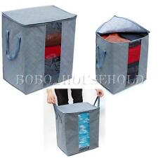 Non-woven Fabric Storage Organizer Bags Box For Clothes Bedding Quilt Blanket