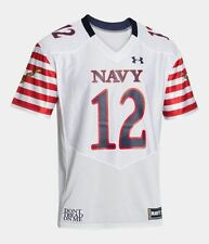 "Navy Midshipmen ""Don't Tread On Me"" Under Armour Special Event Football Jersey"