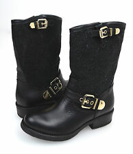 LUCIANO PADOVAN STIVALE BIKERS DONNA-WOMAN BIKERS BOOTS NERO-BLACK LDT233.BY3MA