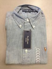 NWT* RALPH LAUREN POLO MEN Shirt CLASSIC FIT LONG SLEEVE BUTTON SHIRT S,M,L,XL
