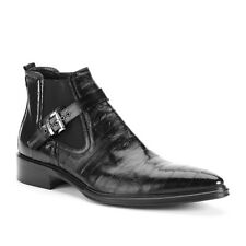 Kenneth Cole Role Model Leather Crosshatch Boot