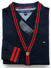 NWT Mens Tommy Hilfiger Button Front Cardigan