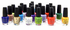 OPI NAIL POLISH COMPLETED COLORS A-Z