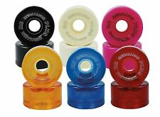 RC Medallion Indoor Quad Roller Skate Wheels 96A 57mm X 30mm Set of 8