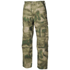 MFH TACTICAL ARMY ACU CARGO TROUSERS MENS COMBAT WORK RIPSTOP PANTS HDT CAMO FG