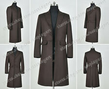 Who Is Doctor The 4th Fourth Dr Tom Baker Cosplay Costume Coat Jacket Wool Ver
