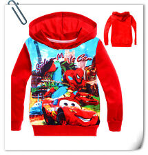2-8 Y Girls Kids Boys Spider man Hooded Top Coat Hoody Sweatshirts Jumper