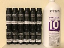 12 bottles of REDKEN FOR MEN 5 minute color camo + DEVELOPER 33.8oz
