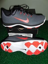 NEW Nike Lunar Cypress Golf Shoes, GREY/RED, PICK A SIZE, $140, Style #652522