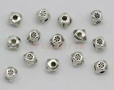 200/400pcs Tibet Silver dice Charm Spacer Beads Fit Jewelry Making 4x4mm
