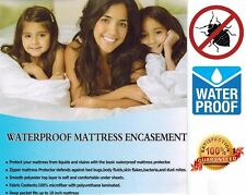 Deluxe Bed Bug Proof Box Spring Encasement, Waterproof ~ LIFETIME WARRANTY ~