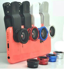 3in1 180 FishEye Wide Angle Micro Photo Lens Zoom Camera Kit for Nokia phone