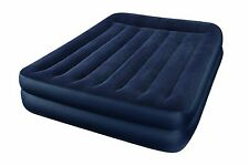 NEW Intex Raised Air Mattress Bed Inflatable Blow Up Queen Airbed Full Size Pump