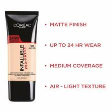 Loreal Paris Infallible Pro-Matte 24Hr Foundation, You Choose!