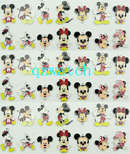 Lot Mickey Minnie Mouse Metal Charms Pendants DIY Jewellery Making Wholesale