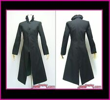 Darker Than Black Cosplay Costume Black Trench Coat Outwear Anime Clothing Cool
