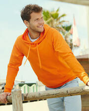 Fruit Of The Loom Men's Lightweight Hooded Sweatshirt Hoodie - 62140