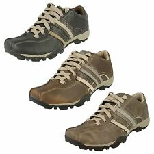 Mens Skechers  Casual Leather Shoes 'Urban Tread Refresh - 50856'