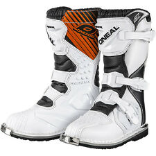 Oneal 2015 Kids Mx Gear White Rider Motocross Dirt Bike Cheap Moto Youth Boots