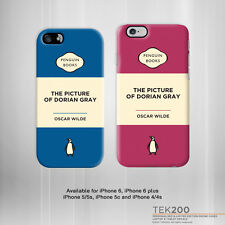 "iPhone 6 5 4 ""The Picture of Dorian Gray"" Oscar Wilde book cover phone case 116"