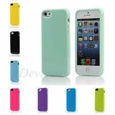 Soft TPU Silicone Rubber Gel Case Cover For Apple iPhone 5 5S 5G Colors