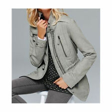 Next Ladies Jacket / Coat in Grey or Pink High Neck (£48 RRP) Brand NEW 80011