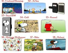 Snoopy Charlie Brown Comic leather phone case for Nokia 920 Xperia Samsung Note