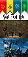 Harry Potter Ultra Thin Metal Door Sign/Plaque 3 Great Designs Add Your Own Text