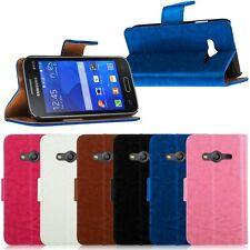 Magnetic Leather Case Wallet Cover Stand For Samsung Galaxy Ace 4 NXT SM-G313H