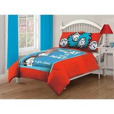 Dr. Suess' Book Cover Comforter Set