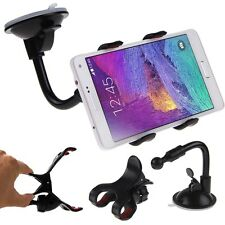 Universal 360°Car Windshield Mount Holder Bracket fr iPhone Smart Cell Phone GPS