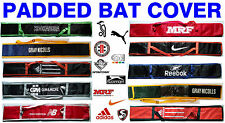 2014 Cricket Bat Cover Bag Sleeve.Full Size Padded.Clearance Sale.Free Shipping