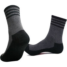 2 / 4 Pairs Mens FULL CUSHION Outdoor Trekking Hiking Socks COOLON fiber