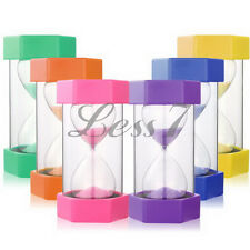 Creative Egg Timer 1, 2, 3, 5, 15 Minute Large Size 1pc 16cm Sand Timer