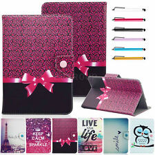 "Hot Sale 7"" Universal PU Leather Stand Cover Case + Stylus For 7 Inch Tablet PC"