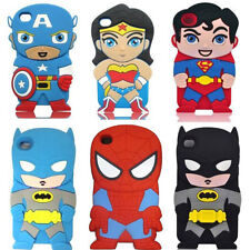"""New 4.7"""" Cartoon 3D Cute Silicon Soft Cover Case For ipod touch4 Iphone6/5/4"""