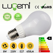 LED BULB E27 ES B22 BC BAYONET ENERGY SAVING 2800K 4000K LAMP LIGHT 60W 75W 100W