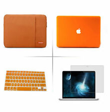 Notebook laptop Sleeve Case Carry Bag Hard Cover For 11 13 15 MacBook Pro / Air