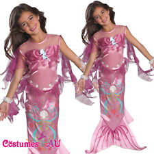 Licensed Pink Little Mermaid Costume Toddler Child Girls Ariel Fancy Dress Party