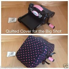 Sizzix Big Shot Dust Cover, Quilted Free, Choose Color, Quilted, New Pattern