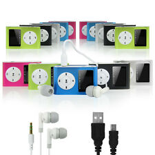 8GB MP3 Player With LCD Display,FM Radio + Earphone+Aux Cable +USB Charge Cable