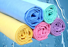 Clean Cham Towel Cleaner Chamois Cloth Synthetic Washing Drying Magic Wipes